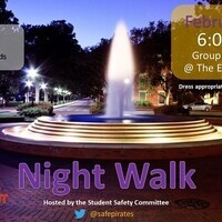 Student Safety Committee Nightwalk
