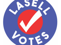 Lasell Votes logo