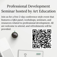 Art Ed Professional Development Seminar