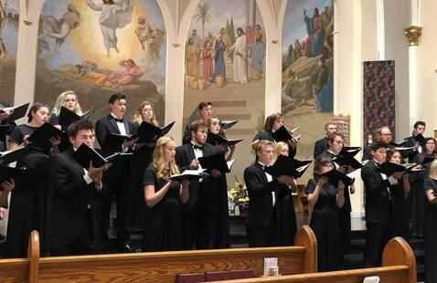 Concert Choir Performance
