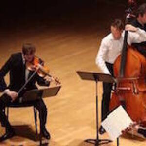 Student Recital: Gene Waldron, violin & Adam Har-zvi, double bass