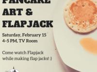 Pancake Art & Flapjack