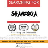 """""""Searching for Shaniqua"""" Black History Month Documentary Screening"""