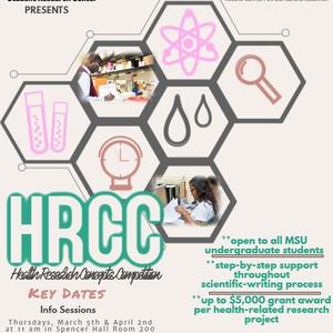 HRCC Spring 2020 Flyer