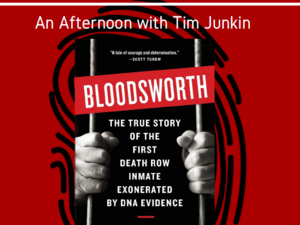 """Bloodsworth"": An Afternoon with author Tim Junkin"