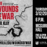 Humanities Symposium 2020: Wounds of War