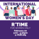 R'Time for International Women's Day