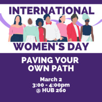 Paving Your Own Path - Workshop with Women's Resource Center