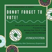 Donut Forget to Vote!