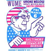 Baltimore Supports Bernie Fundraiser! with Wume Smoke Bellow Infinity Knives + Randi Santa Librada @ The Metro Gallery