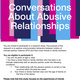 Call for Research Participants: Conversations About Abusive Relationships