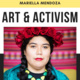 """Mariella Mendoza will be presenting """"Art & Activism"""" on February 27, 2020 from 12 PM to 1:30 PM in Den 2 on the Taylorsville Redwood Campus."""