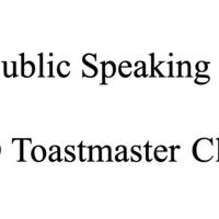 UO Toastmasters Meeting