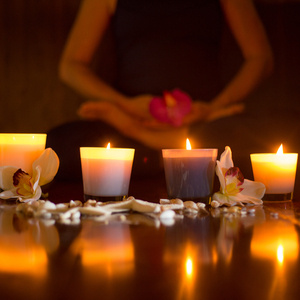 Flow Yoga by Candlelight
