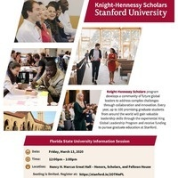 Knights-Hennessy Scholars at Stanford University Info Session