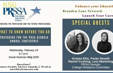 KSU PRSSA Chapter Meeting - Feb 19th