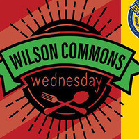 Logo of Wilson Commons Wednesday pic with fork and spoon underneath