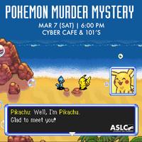 Pokemon Murder Mystery Event