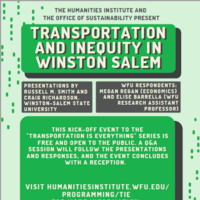 Transportation and Inequity in Winston-Salem