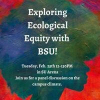 Exploring Ecological Equity with BSU!