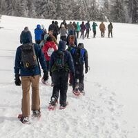 Ranger-Guided Crater Lake Snowshoe Day Trip (April 4th)