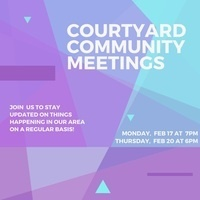 February Community Meetings