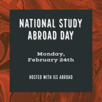 National Study Abroad Day - Intern Abroad