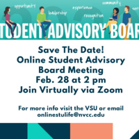 Online Student Advisory Board Meeting