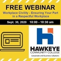 FREE Webinar: Workplace Civility - Ensuring Your Part in a Respectful Workplace