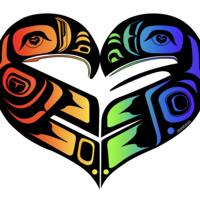 Tlingit Lovebirds made by Mikayla Mitchell (Tlingit)