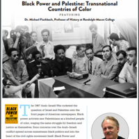 Black Power & Palestine: Transnational Countries of Color