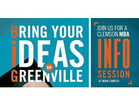 Clemson MBA Evening Info Session