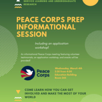 Peace Corps Prep Informational Session