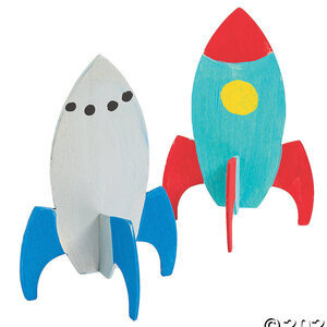 Build and Paint your own Rocket