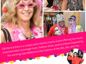 100 Hons & Elvis Charity Scavenger Hunt, Luncheon, and Fashion Show