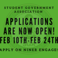 SGA Applications are open!