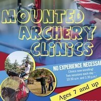 CANCELED - Mounted Archery Clinics
