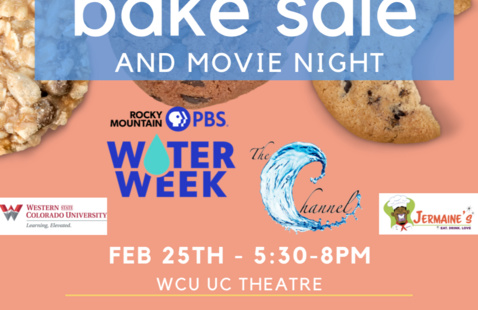 Western Water Channel's Bake Sale and Movie Night