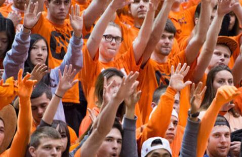 Men's Basketball Orange Out vs. Santa Clara University