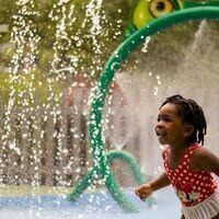 Girl at WaterPlay