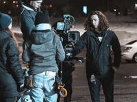 Filmmakers Aja and Kaelan Selbach-Broad  on a film shoot
