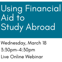 Using Financial Aid to Study Abroad