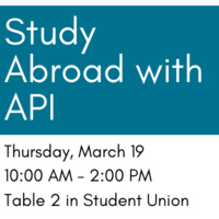 Study Abroad with API