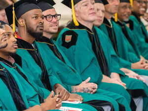 Ten PEP graduates received their Associate in Liberal Arts degrees in May 2019