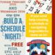 Build A Schedule Night