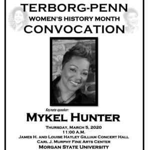 TERBORG-PENN WOMEN'S HISTORY MONTH CONVOCATION 2020