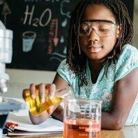 Girls in Science Camp-In