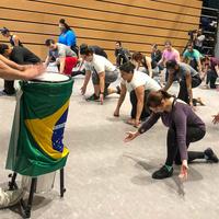 Samba and Capoeira Workshops and Performance with Mestre Efraim Silva and Thelma Ladeira