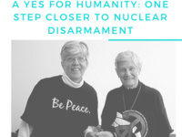 Just Talk: A Yes for Humanity - One Step closer to Nuclear Disarmament