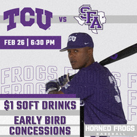Baseball vs Stephen F. Austin